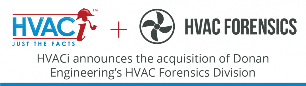 HVAC Investigators announces the acquisition of Donan Engineering's HVAC Forensics division