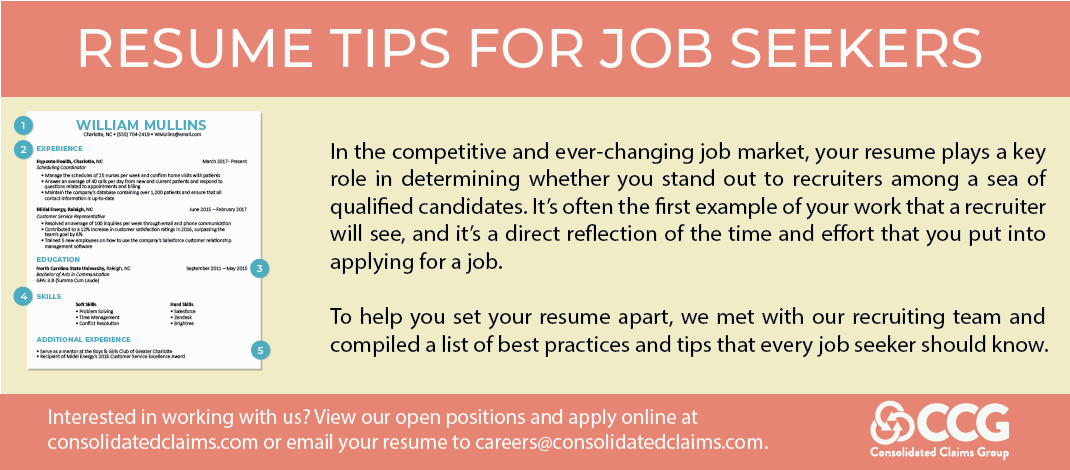 12 Resume Tips for Job Seekers