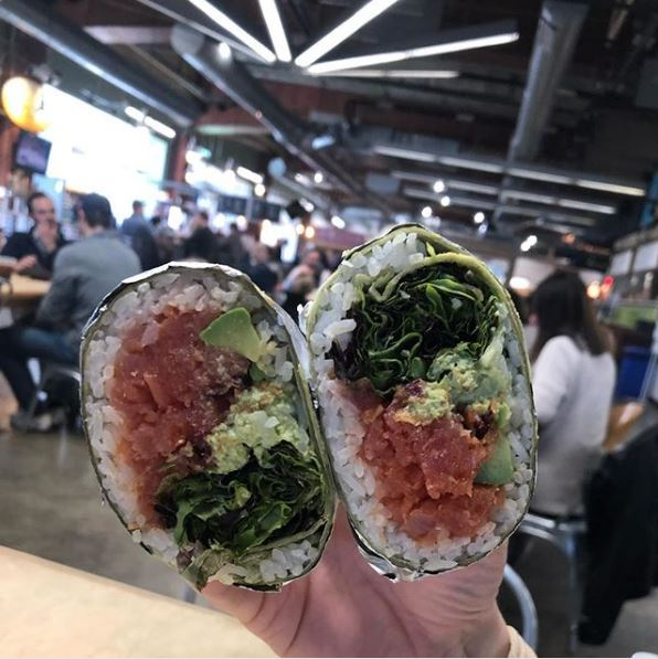 Uptown Charlotte Lunch Ideas - 7th St Market