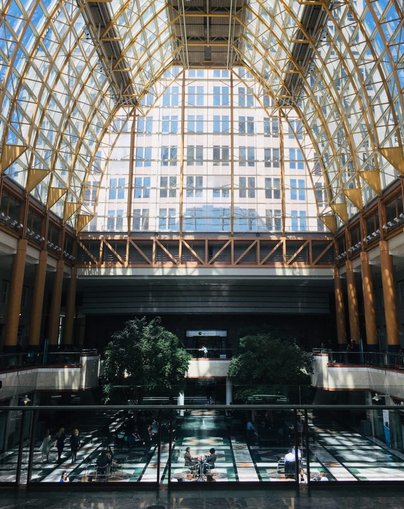 Uptown Charlotte Lunch Ideas - Founders Hall