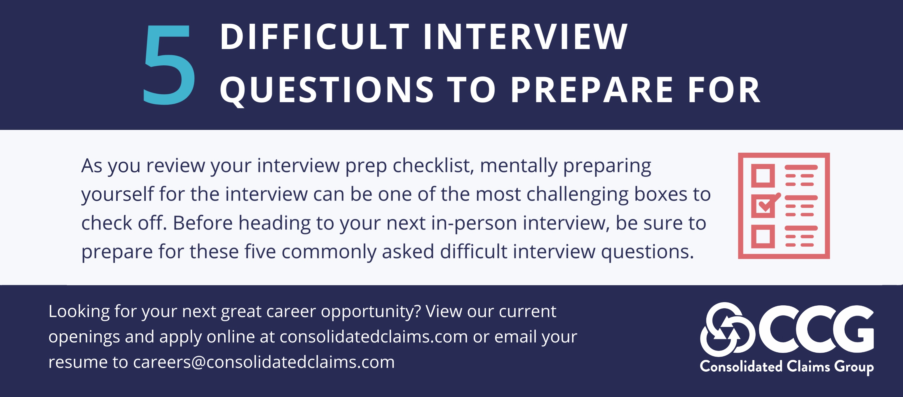 5 Difficult Interview Questions to Prepare For